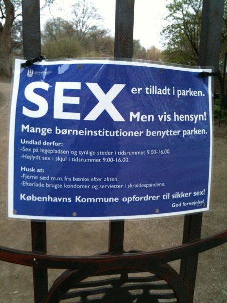 Sexintheparkisallowed