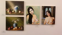 4 Jacob Mann paintings in BWAC's Spring 2012 art show